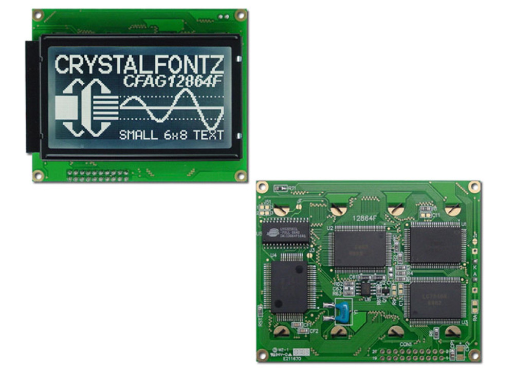 LCD GRAPHIC 128X64 CFAG12864F-STI-TY