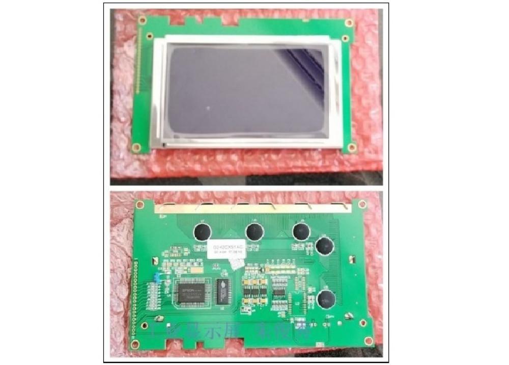 LCD Display Blue screen   G242CX5R1ACS  240X128