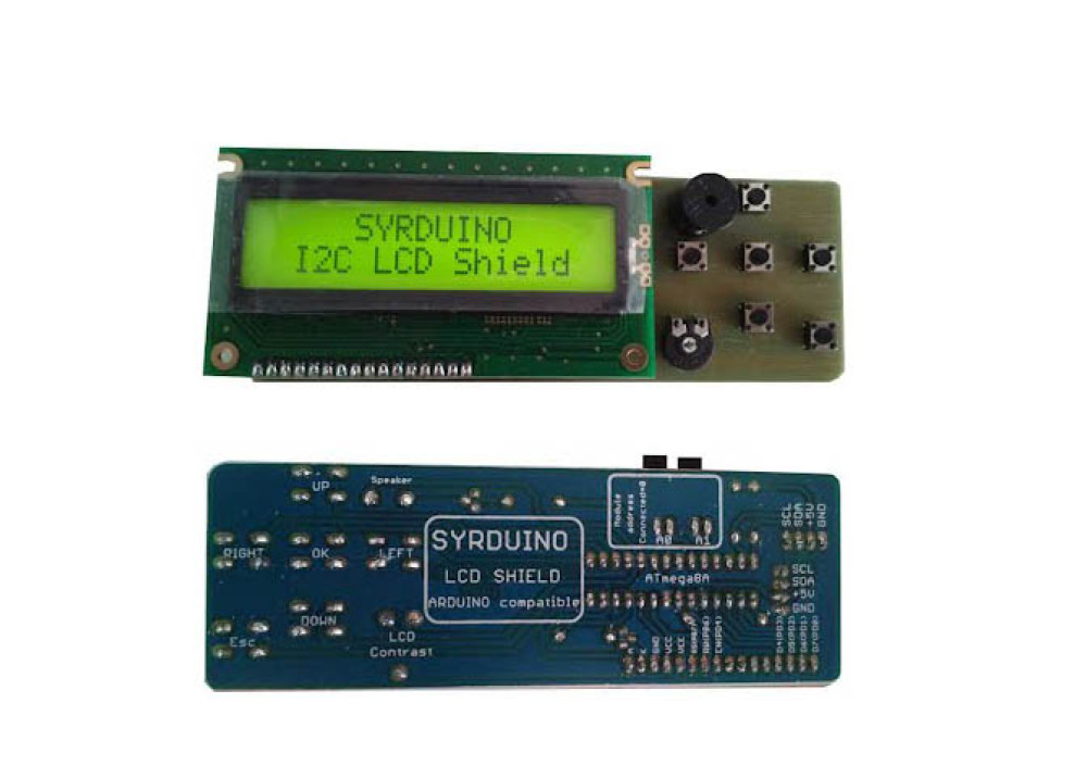 SYRDUINO LCD shield for Arduino