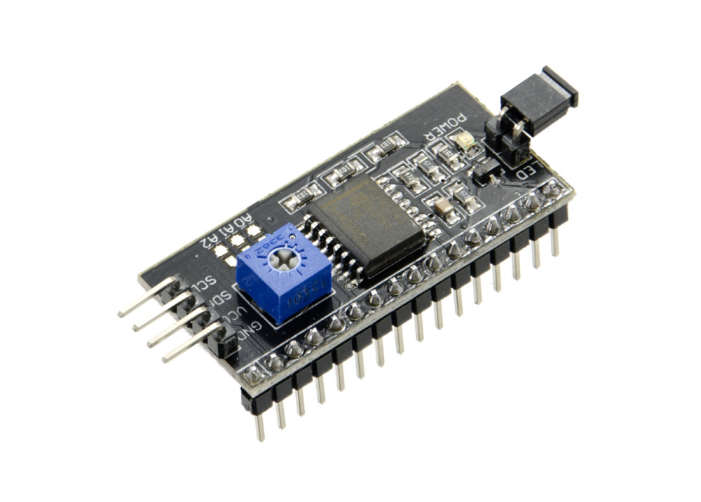 Serial I2C LCD Daughter Board Module