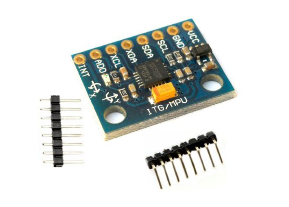 Arduino MPU6050 Module GY-521 Playground Triple Axis Accelerometer and Gyro Breakout