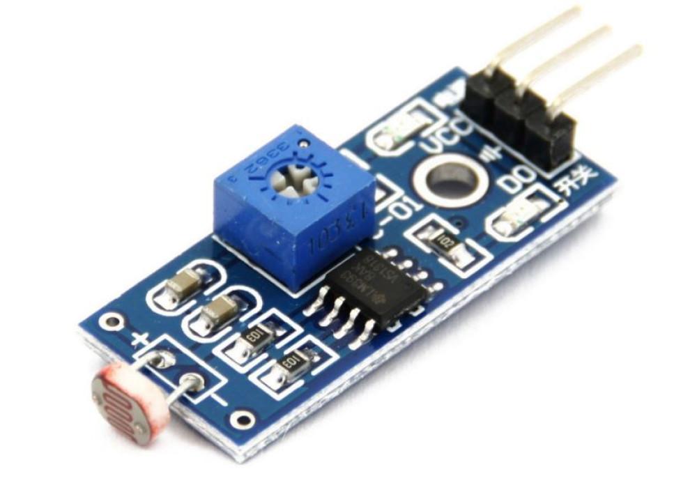 Light Sensor Module Light Dependent Resistor LDR Detection 3PIN for Arduino Raspberry