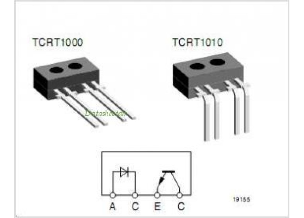 Reflective Optical Sensor with Transistor Output TCRT1000