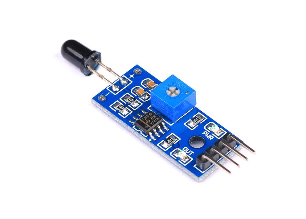 Fire and Flame sensor infrared receiver HL-01module for Arduino