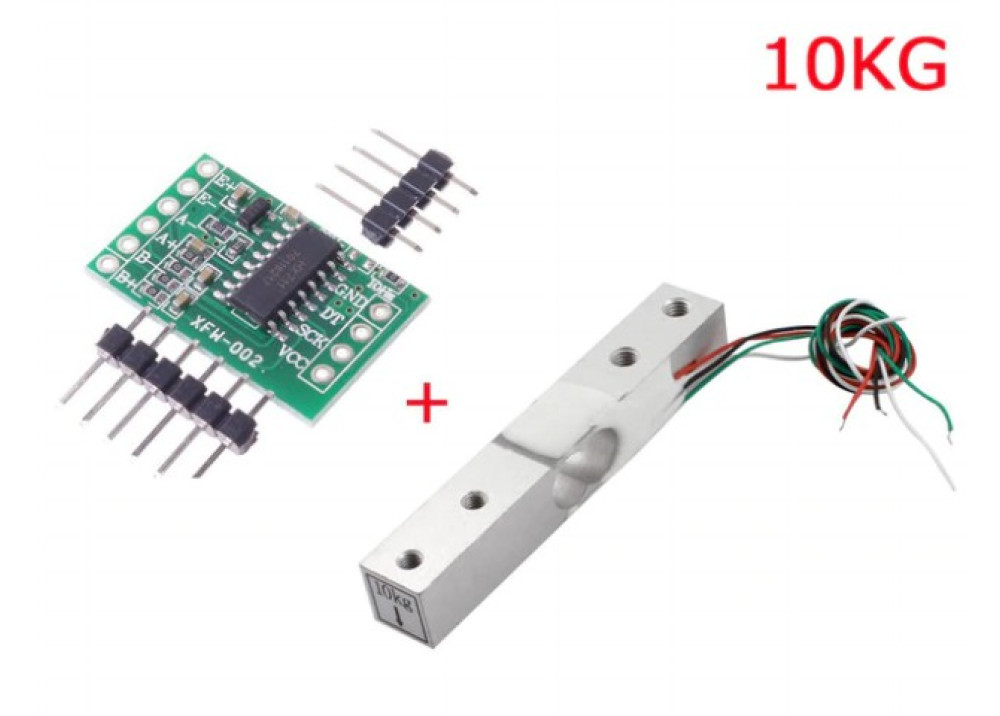 Arduino Load Cell Scale Sensor Modul HX-711 With 10KG