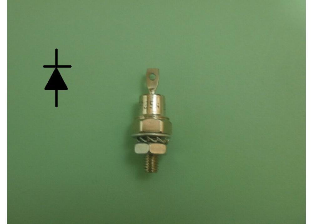 Diode  ZP25A Stud + 25A 1000V
