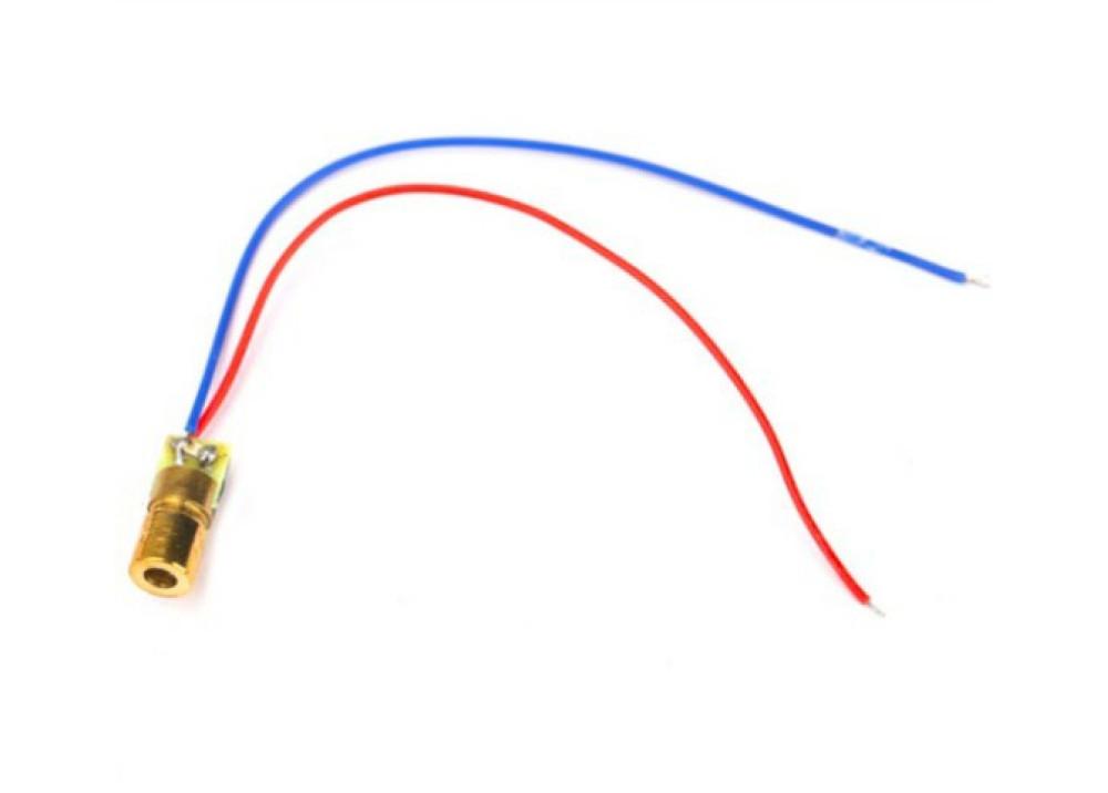 Laser Diode 650nm 5mW 5V Laser Red Dot Diode Module Head