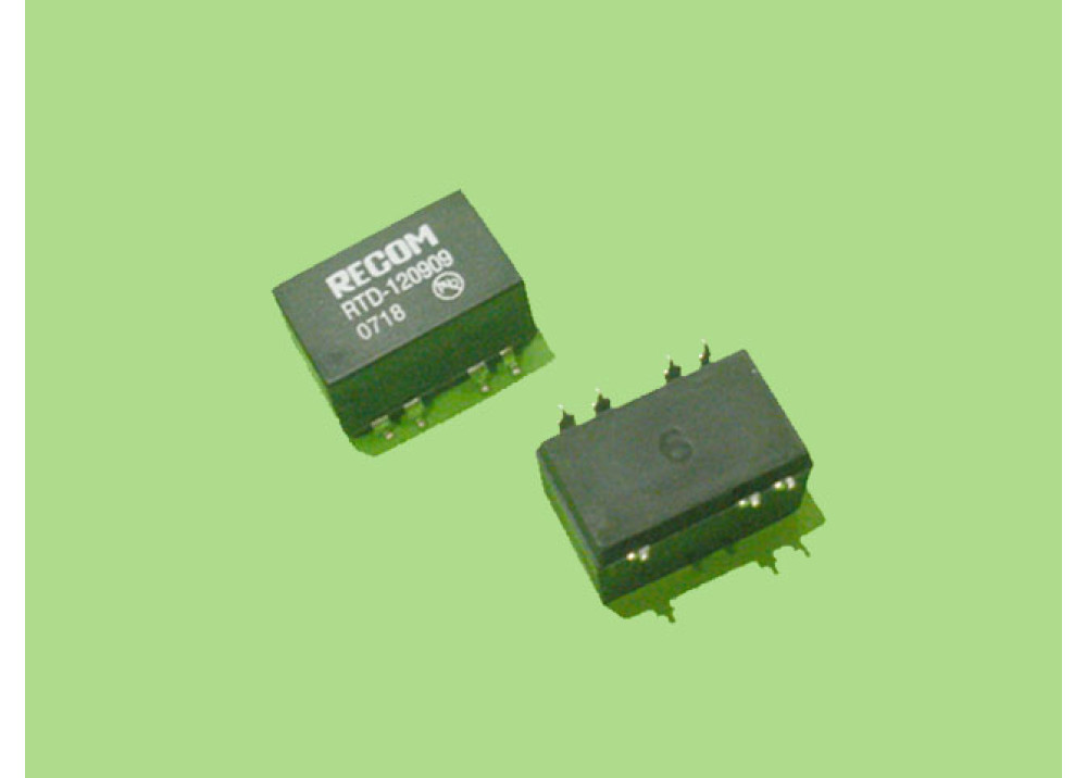 SMD DC/DC RTD-12909 IN=12V OUT=9V 111mA