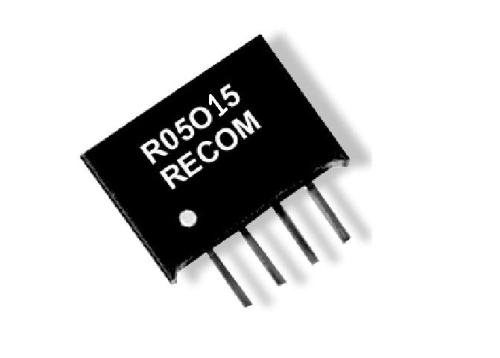 DC/DC R05015 IN 5V OUT 15V 66mA