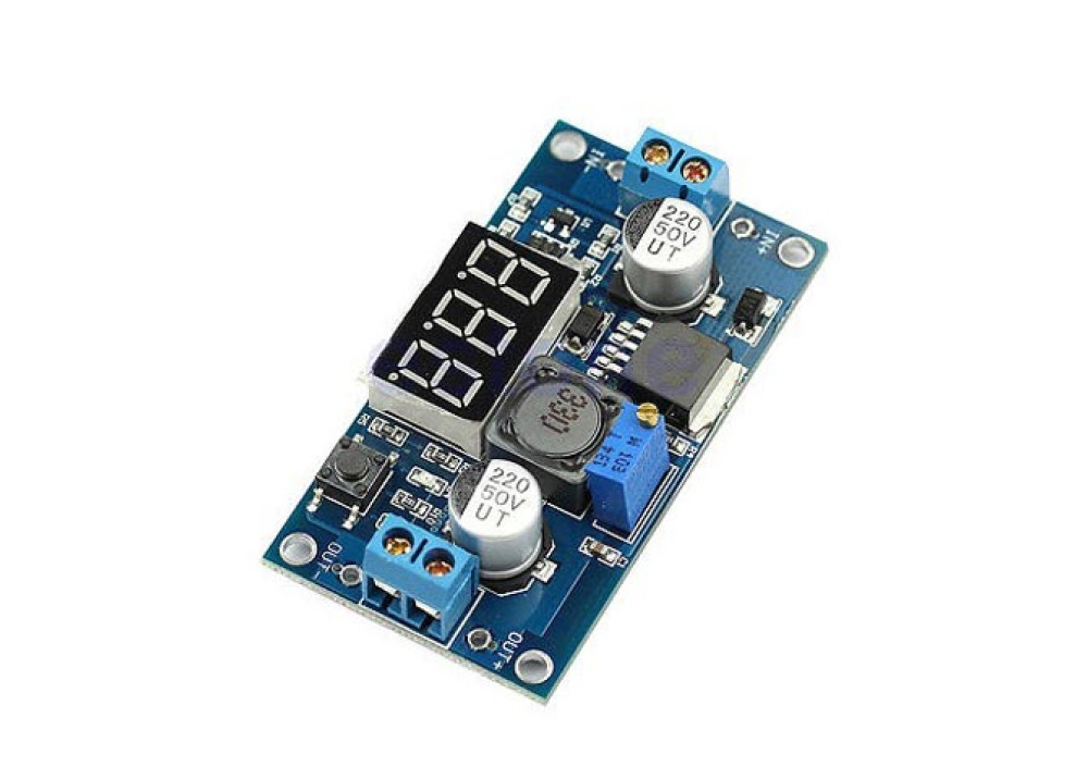 Step Down DC DC ADJ Converter  POWER MODULE IN 5V~36V OUT 1.5~32 3A With LED