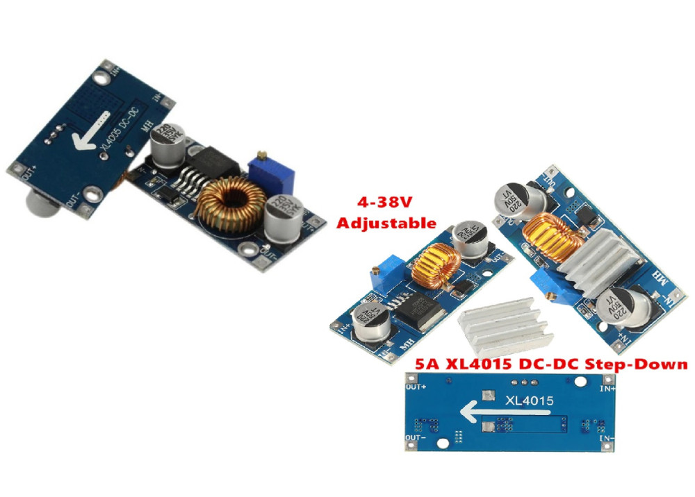 Step Down BUCK DC DC ADJ Converter  POWER MODULE IN 4V~38V OUT 1.25~32 5A