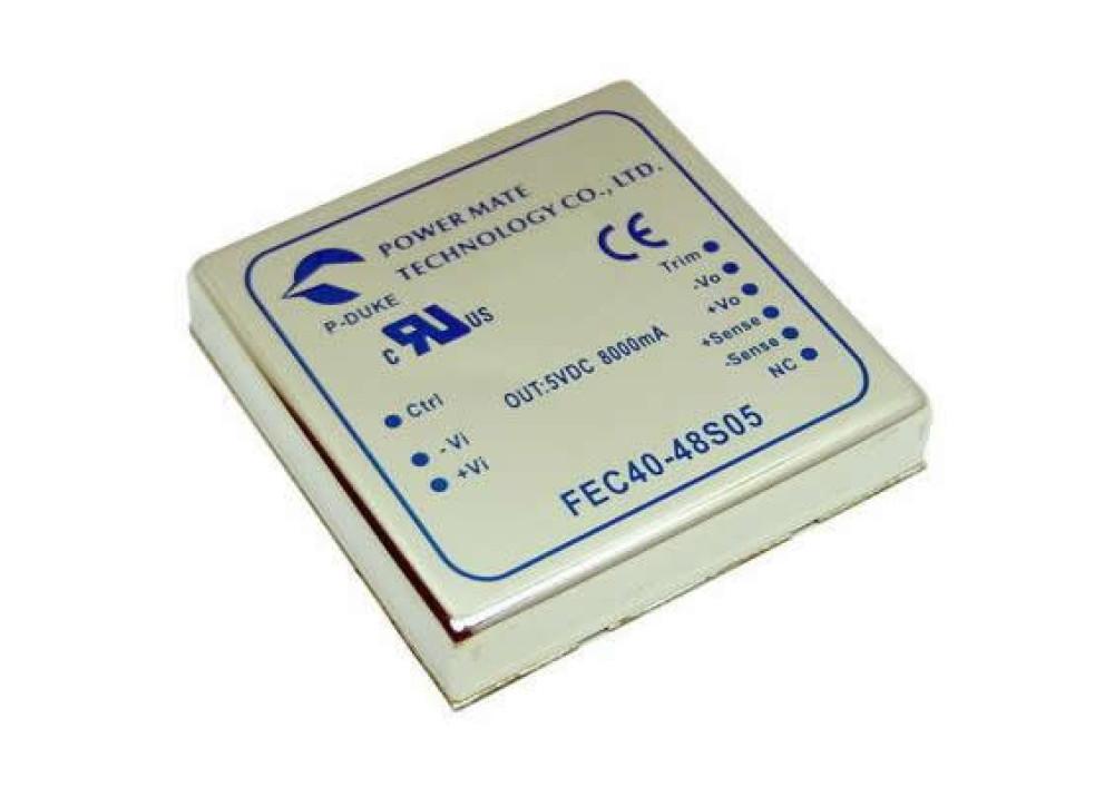 DC TO DC CONVERTER FEC40-48D12 48 / 12V 1.8A DIP package 2