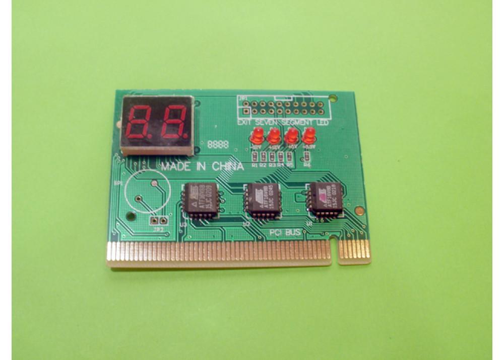 PC PCI Analyzer Tester Diagnostic 2LEDS