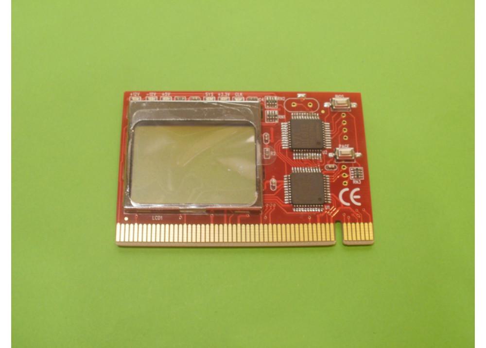 PC PCI Analyzer Tester Diagnostic LCD LCD PCI PC Diagnostic Analyzer Card Motherboard Post Tester