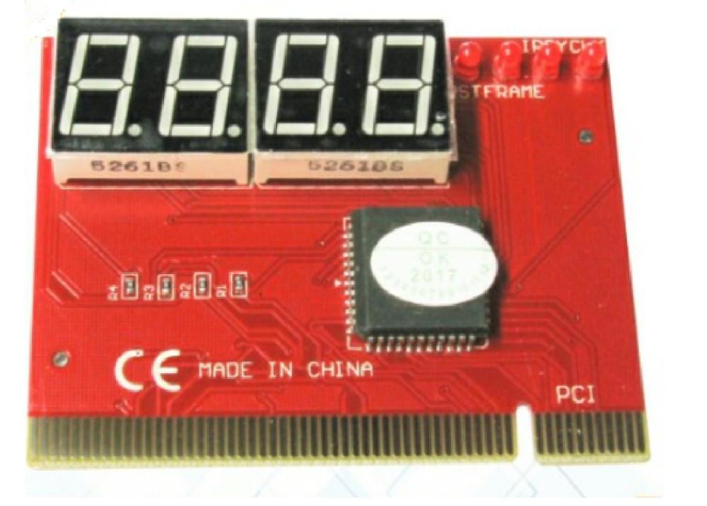 PC PCI Analyzer Tester Diagnostic 4LEDS