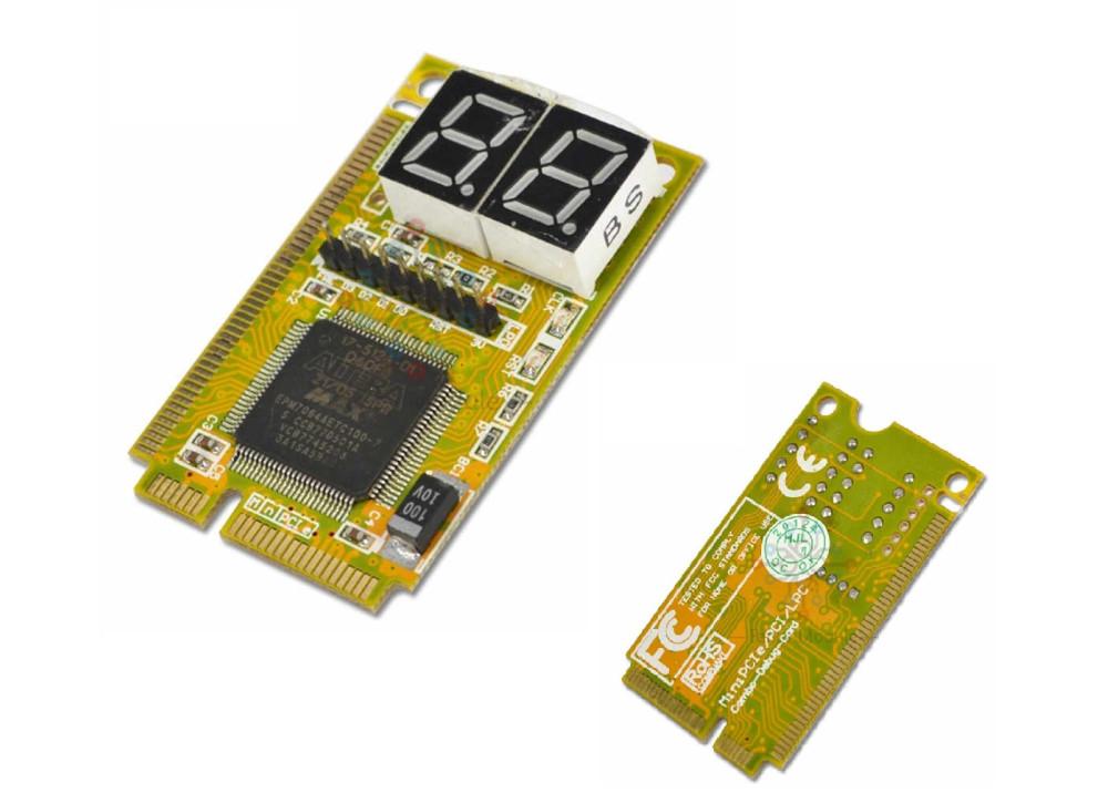 Mini PCI 3 in 1  / PCI-E LPC PC Laptop Analyzer Tester Diagnostic Post Test Card