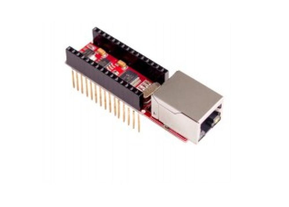 Arduino ENC28J60 Ethernet Shield For Arduino Nano V3.0 RJ45 Webserver Module