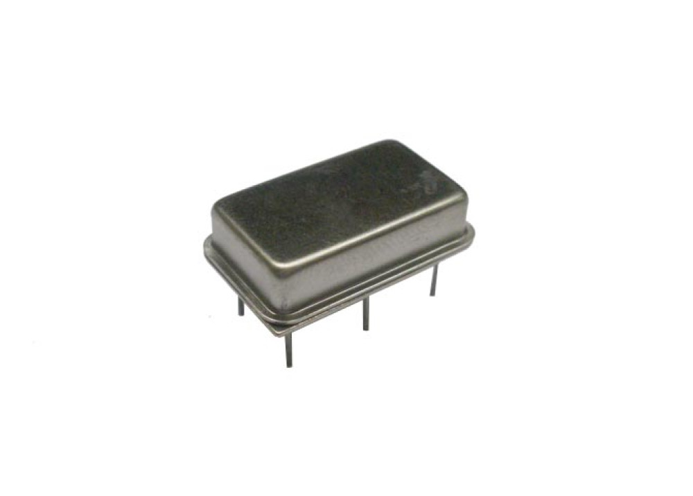 Crystal oscillator 45.500MHZ DIL14 package 6PIN