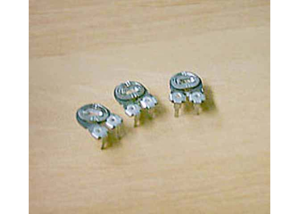 Carbon Trimming Potentiometer 8mm round 220R