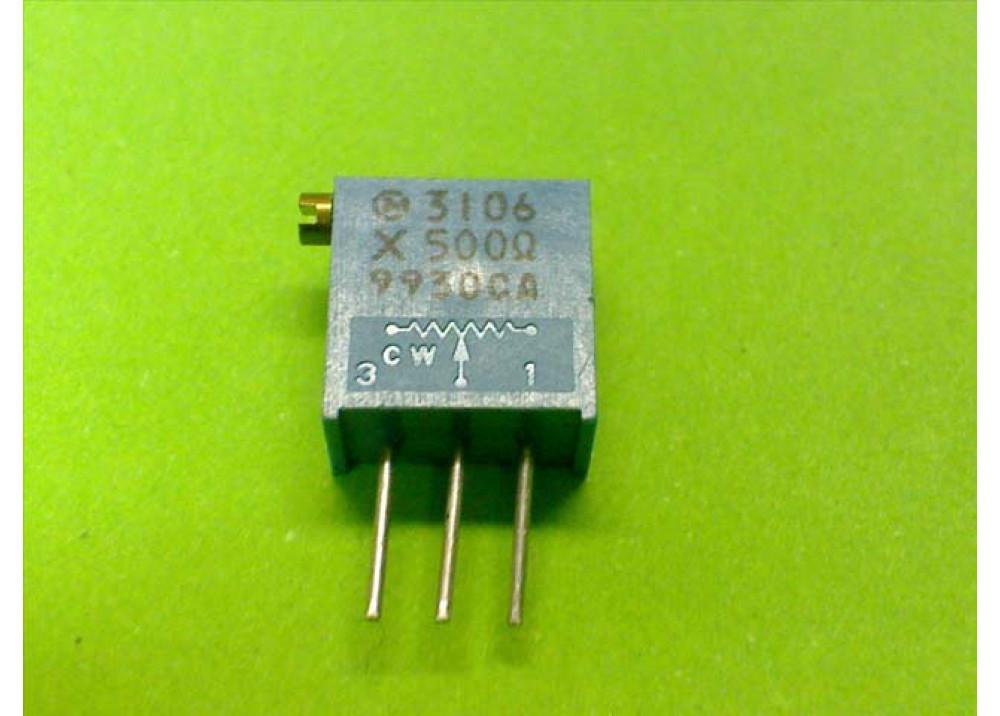 Cermet Trimming Potentiometer Multiturn 3296X 50R