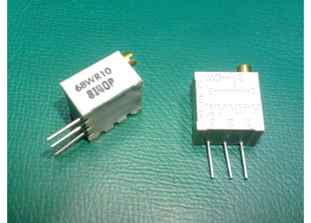 Cermet Trimming Potentiometer Multiturn 3296W 10R