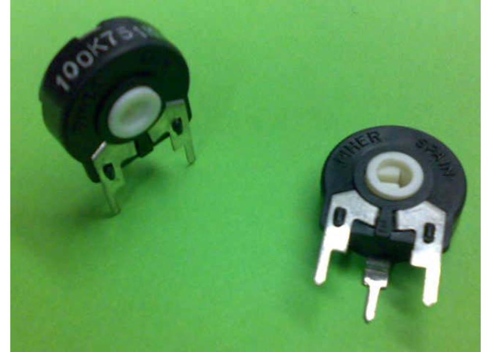 Carbon Potentiometer PT-15-L-H5-104 100K