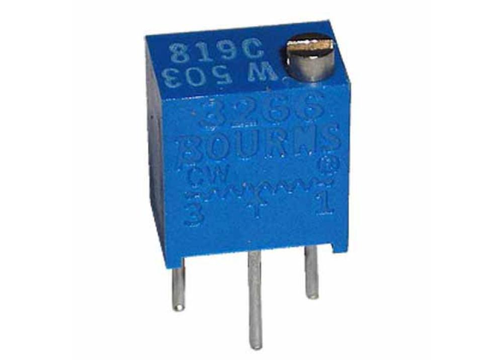Cermet Trimming Potentiometer Multiturn 3266W 100K