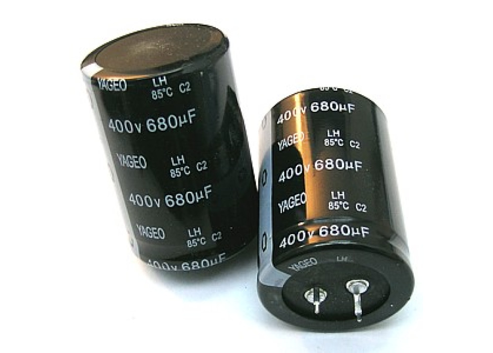 Electrolytic Capacitor 680uF 400V