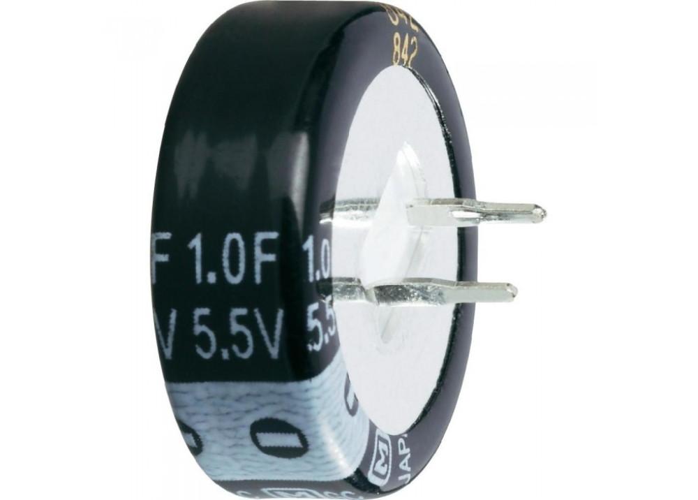 Electrolytic Capacitor SC5R5105Z-C 1F 5.5V Radial