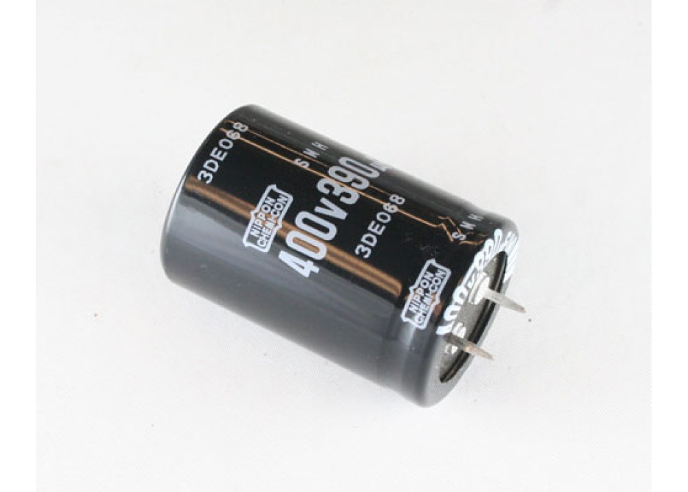 Electrolytic Capacitor 390uF 400V