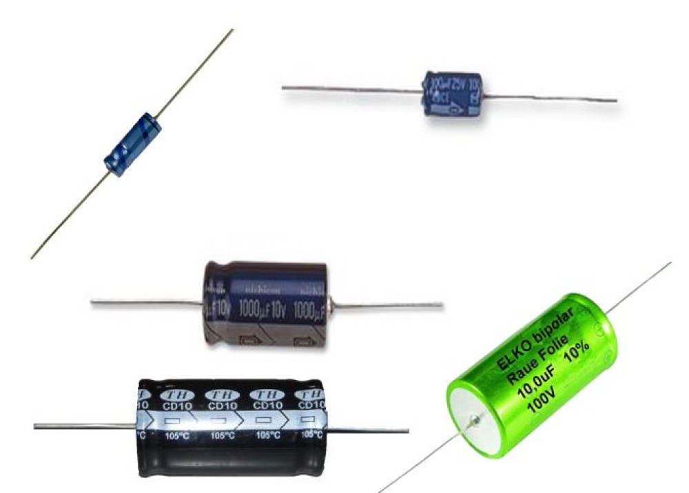 Electrolytic Capacitor 2200uF 16V  AXIAL