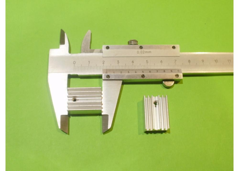 HEATSINK  22x15x10mm TO220