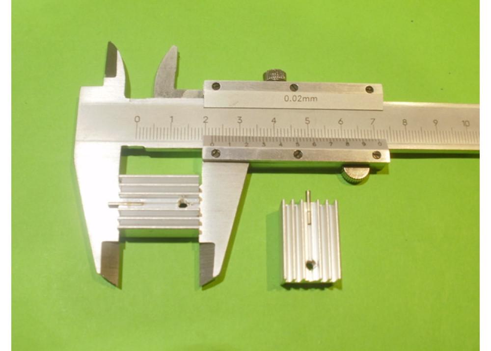 HEATSINK  22x15x10mm TO-220