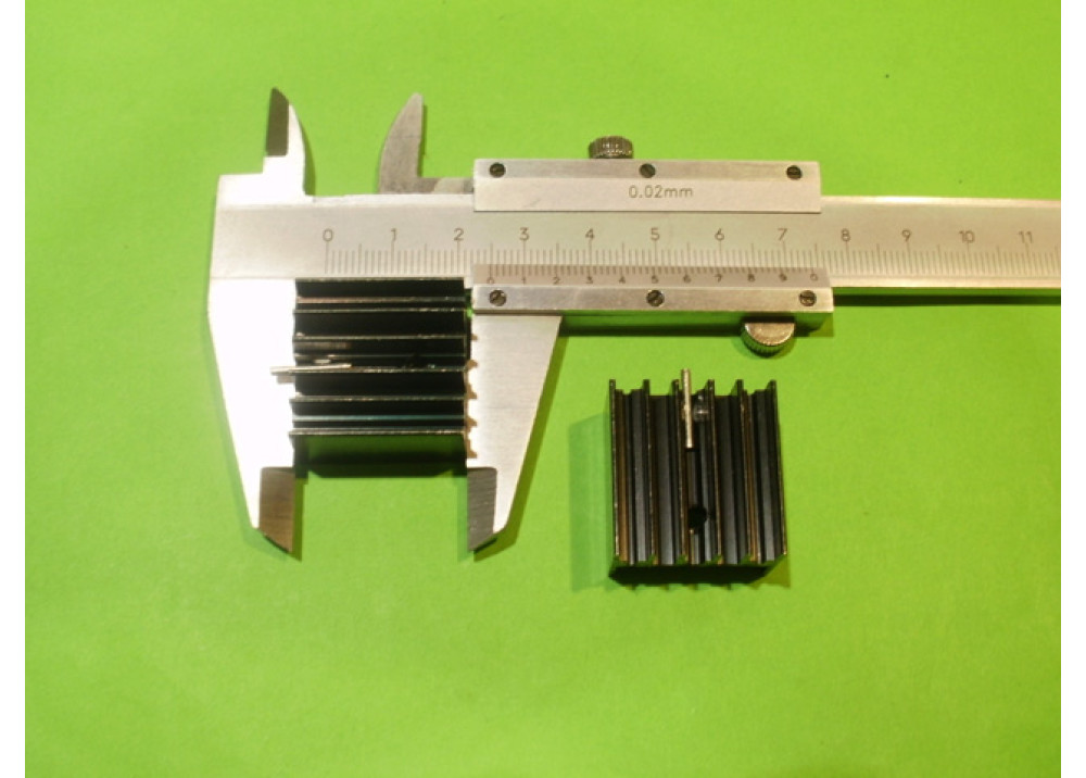 HEAT SINK 25x23x15mm TO-220