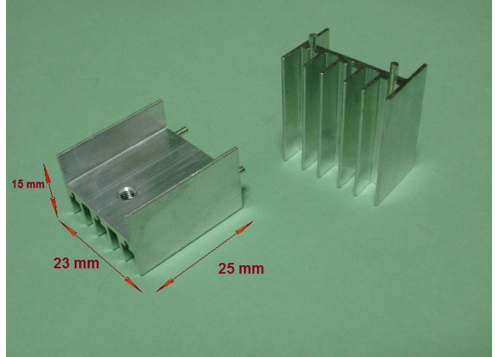 HEAT SINK TO247 25x23x15mm TO-220/TO-247