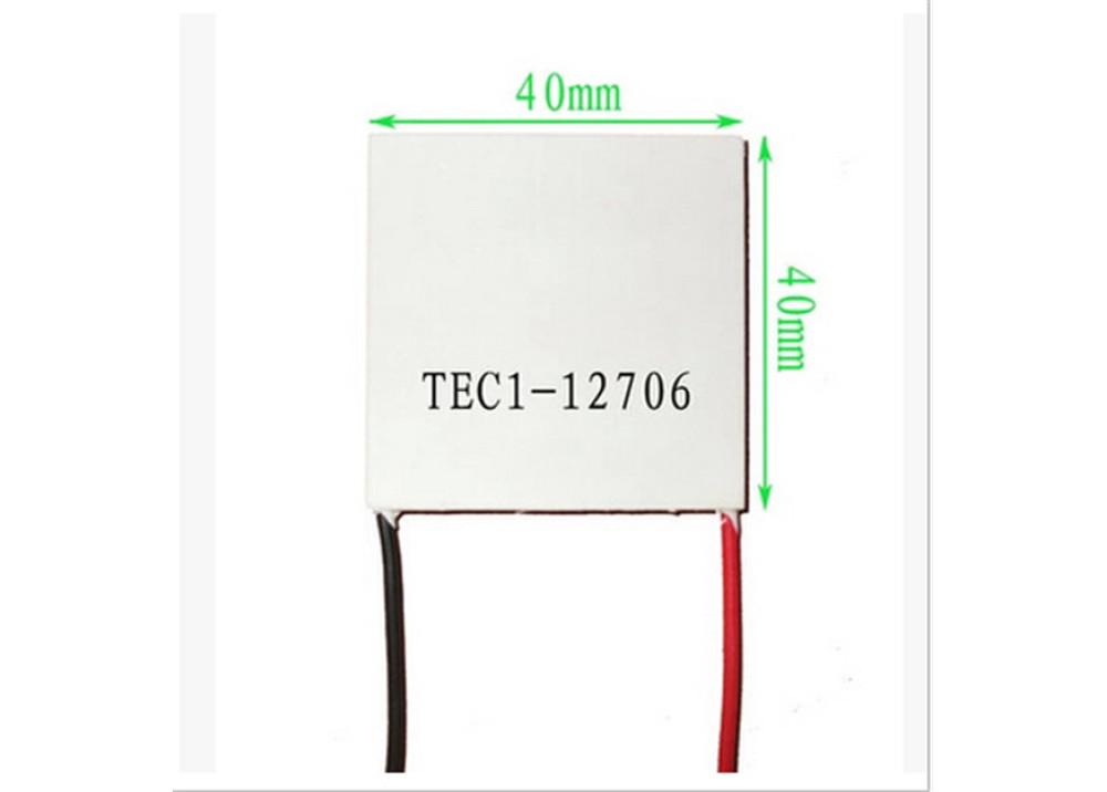 Thermoelectric Cooler Peltier TEC1-12706 4x4x3.8Cm
