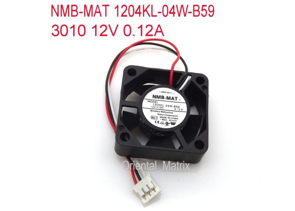 FAN 1204KL-04W-B59-B00 3x3x1cm 12V