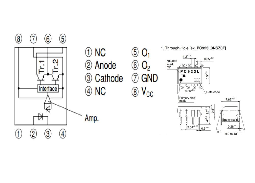 PC923L0NSZ DIP-08