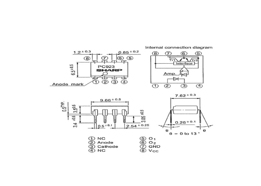 PC923I DIP-08