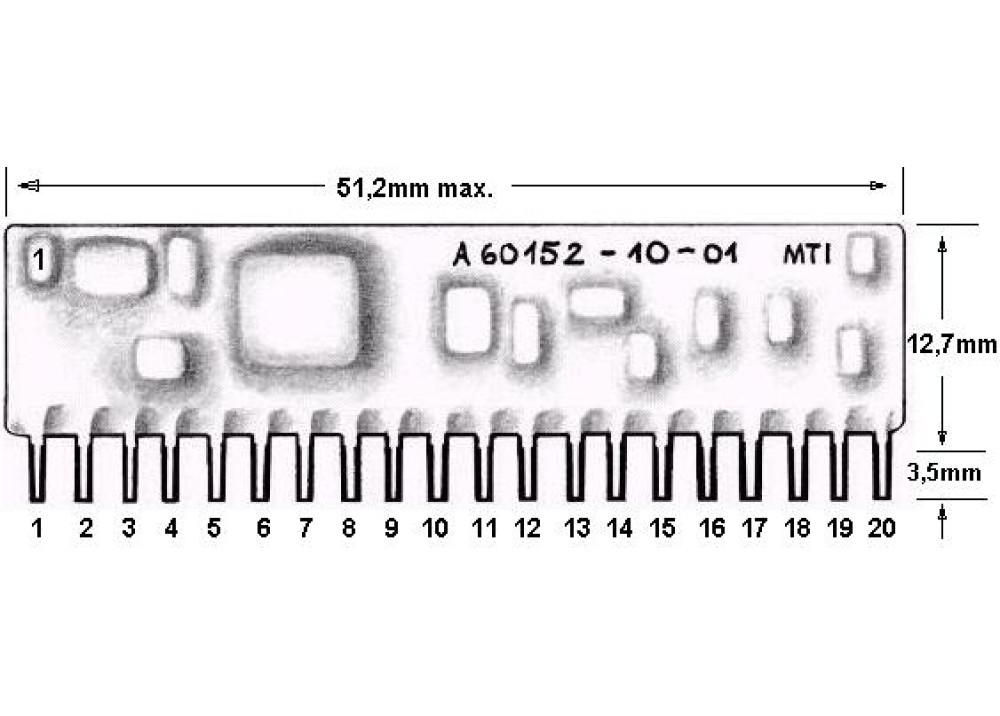A60152-10-01 Hybrid IC