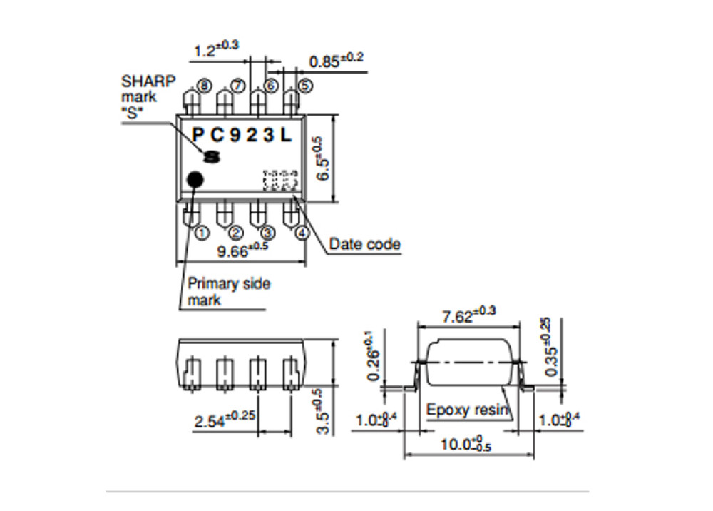 SMD PC923L0NIP (12mm Width) SM-08