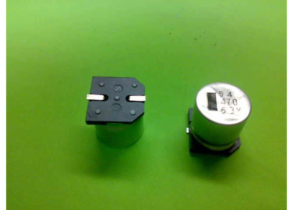 SMD ELEC CAP 470UF 63V 16mmX17.5mm