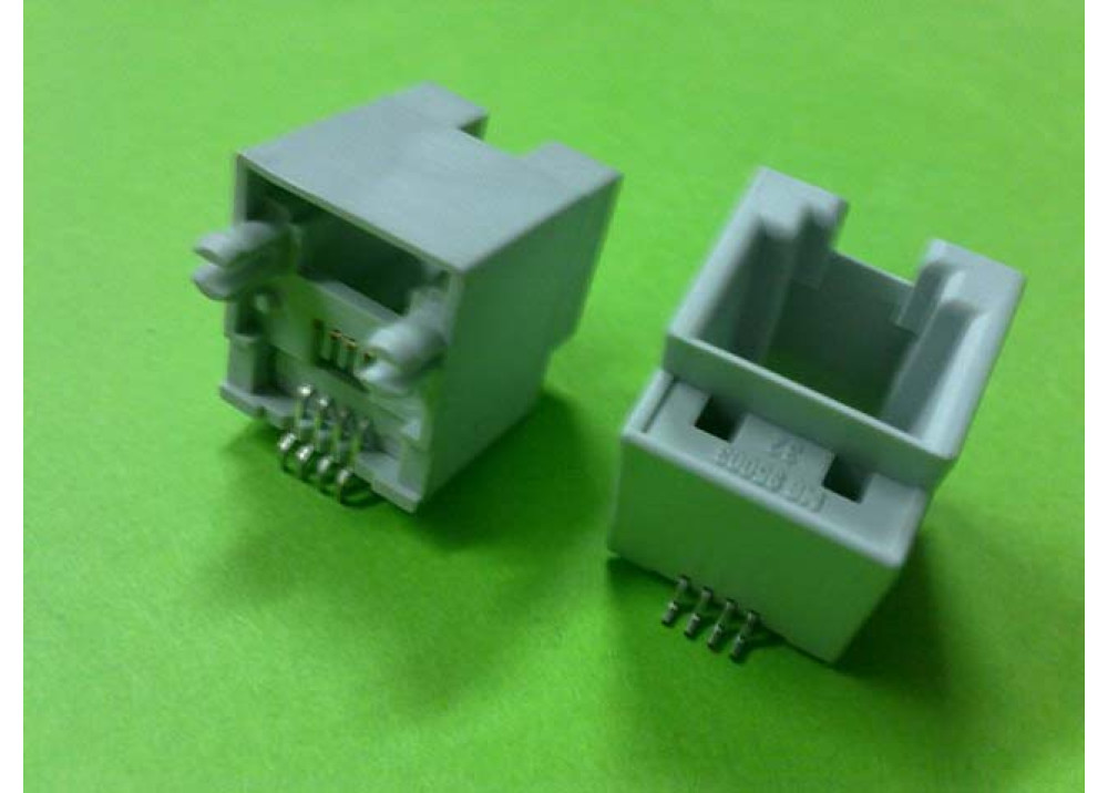 SMD Connector Jack RJ11 Female Straight angle PCB