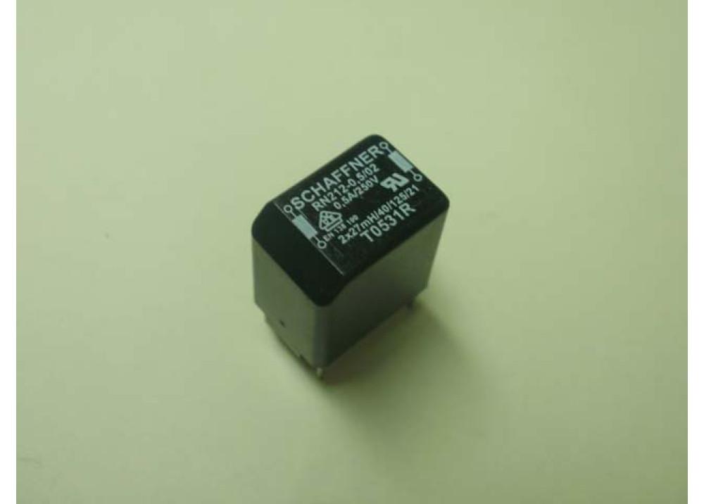 COIL CHOKE RN112-0.5-02  2x27mH  0.5A 250V