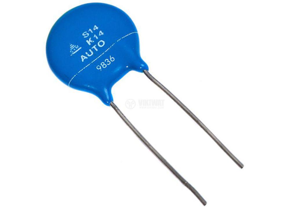 Varistor 14S14K VAC 18VDC 10A