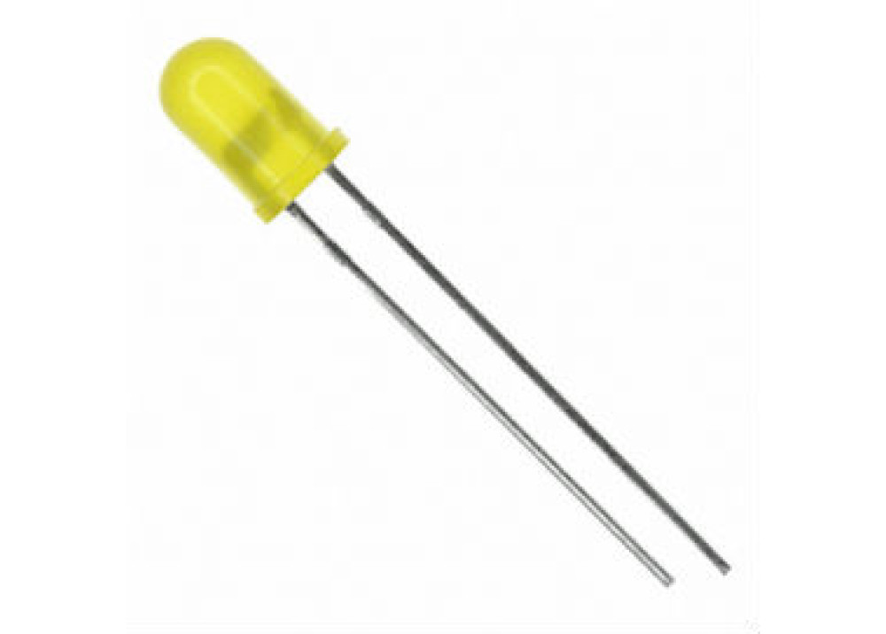 LED Yellow 5mm TY-50UY2TD20-880