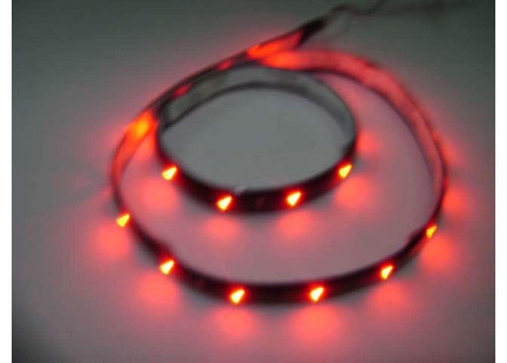 FLEXIBLE TAPE LED RED 60CM