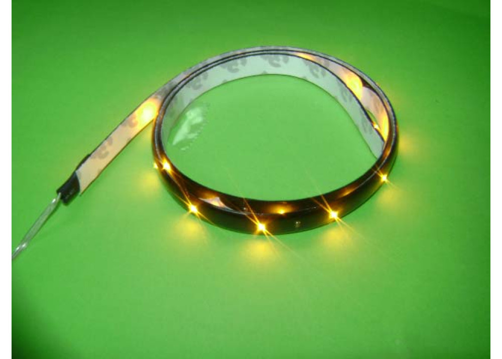 FLEXIBLE TAPE LED ORANG 60CM