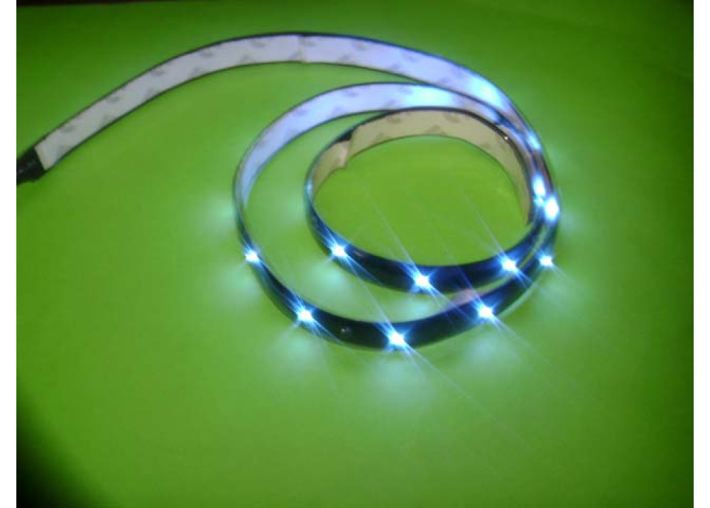 FLEXIBLE TAPE LED BLUE 60CM