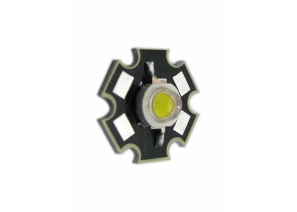 LED 1W COOL WHITE 3.2~3.4V 350mA